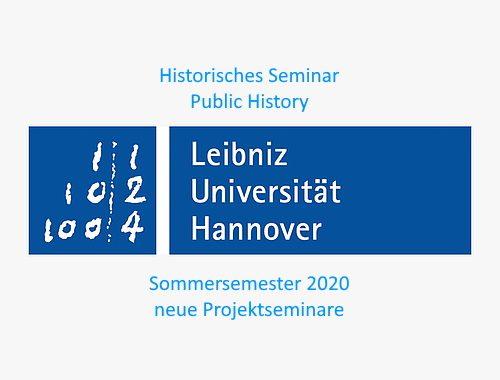 Leibniz Universität Hannover Public History neue Kurse 2020