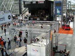 Eingangsbereich Messe Leipzig